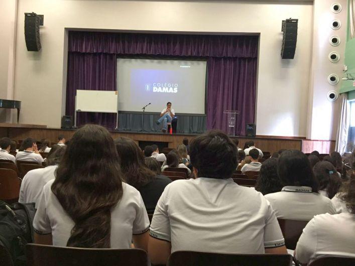 2ª Série: Estudantes participam de Aulão para o SSA